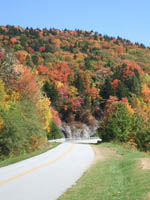 Fall colors during a recent motorcycle tour